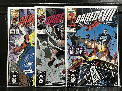 Lot of 3 Daredevil #292 294 295 (1964 Marvel) combined shipping deal!