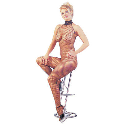 Mandy mystery Line Catsuit fishnet - Bodystocking & Catsuit