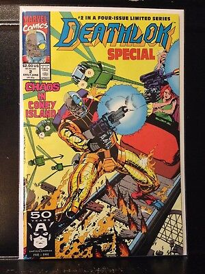 Deathlok Special #2 (June 1991 Marvel) Combined Shipping Deal! Buy 2 Get 1 Free!