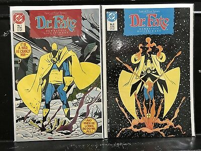 Lot of 2 Doctor Fate #1 4 (1989 DC) Combined Shipping Deal!