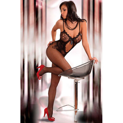 LivCo Corsetti Magali - Black - Bodystocking & Catsuit