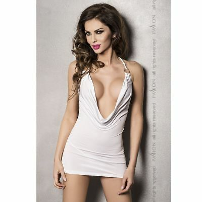 PASSION WOMAN MIRACLE DRESS WHITE BY PASSION WOMAN LINGERIE S/M - Sexy clothes