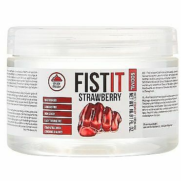 Pharmquest PHARMAQUEST FIST IT STRAWBERRY 500ML - Anal Lubes