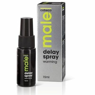 COBECO - MALE MALE COBECO WARMING DELAY SPRAY 15 ML - Delayers