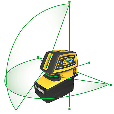 Spectra Precision LT52G Green Point & Line Laser Tool