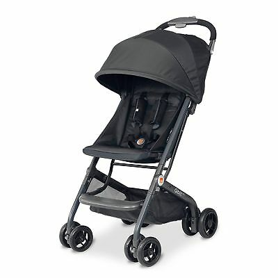 GB Qbit LTE Travel Compact Folding Baby Stroller, Charcoal OPEN BOX MISSING BAG