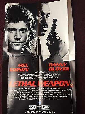 Lethal Weapon - Mel Gibson / Danny Glover - Original