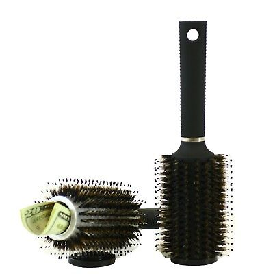 Hair Brush Diversion Safe Stash w/ Smell Proof Bag by Stash-it Can Safe Decoy