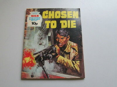 Good - Chosen to Die (War Picture Library No. 1187)  1966 IPC Magazines, London