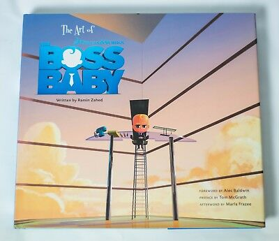 The Art of The Boss Baby signed by DreamWorks animators