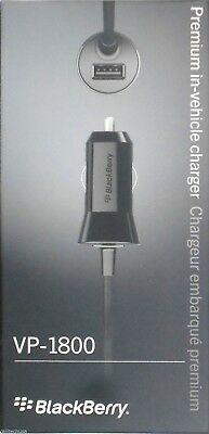 Lot of 20 New Blackberry OEM VP-1800 Premium Car Charger Micro USB