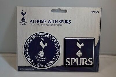 Tottenham Hotspur Football Club Multi Surface Metal Sign.THFC Sports Memorabilia