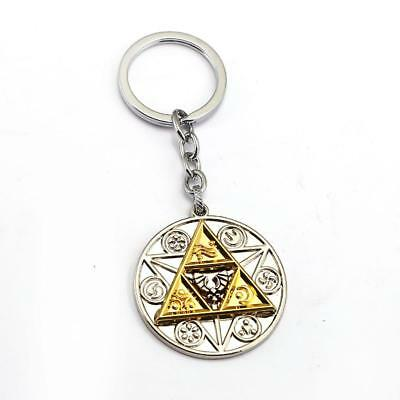 The Legend of Zelda Triforce Metal Keychain