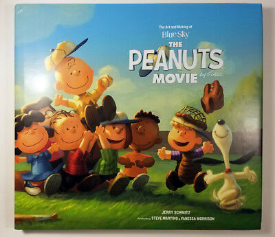 The Art and Making of The Peanuts Movie signed by the director Steve Martino