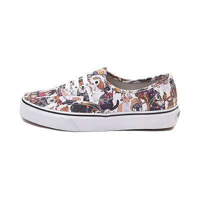04a4121f71 NEW Vans Authentic ASPCA Party Animals Skate Shoe Multi CATS DOGS Print