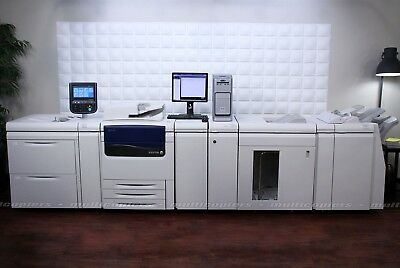 Xerox Color J75 Press Color Printer Fiery PrintMe ~ C75 C70 C60 770 700 570 560