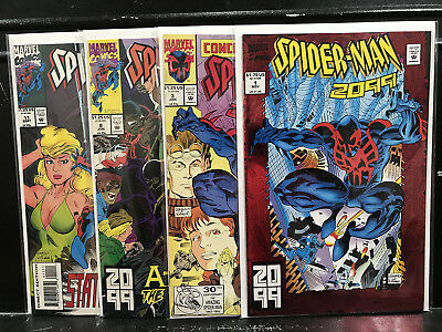 Lot of 4 Spider-Man 2099 #1 3 8 11 (1992 Marvel) Combined Shipping Deal!