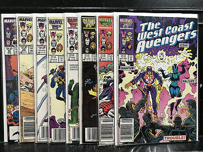 Lot of 8 West Coast Avengers #12 13 16 17 18 19 20 26 (1985 Marvel) Shippin Deal