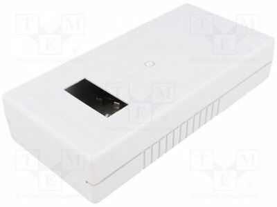 1 pcs Enclosure: for devices with displays; X:93mm; Y:190mm; Z:42mm
