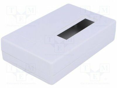 1 pcs Enclosure: for devices with displays; X:118mm; Y:74mm; Z:29mm