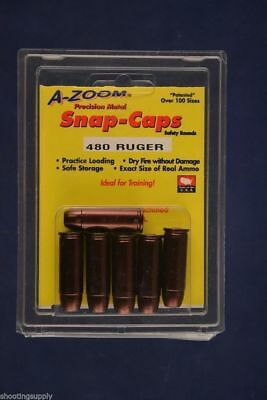 A-Zoom Snap Caps for 480 Ruger New In Package Azoom #16146