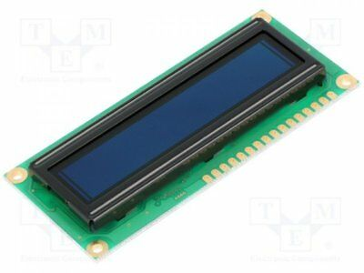 1 pcs Display: OLED; 16x2; Window dimensions:66x16mm; Dim:80x36x10mm