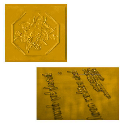 "1 PCS 302-320℉ (150-160℃) Letterpress Stamping Photopolymer Plate A4-8.5""X11"""