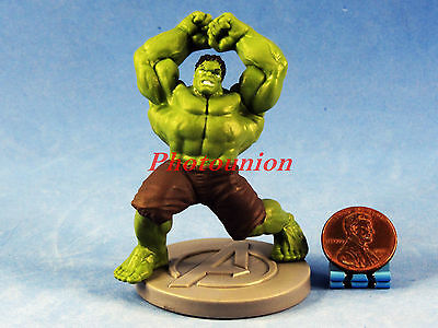 Cake Topper MARVEL SUPERHEROS The Avengers Incredible Hulk Figure Statue A290