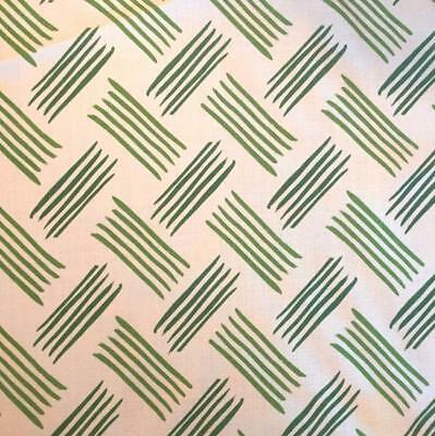 6 1/2 Yards Of Amy Meier For Peter Fasano 100% Linen Hand-Printed Fabric : Bower