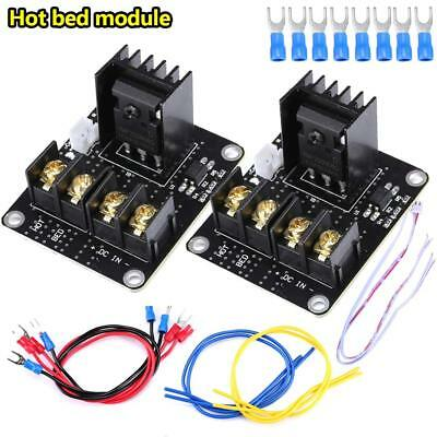2 Set 12V 3D Printer Heated Bed MOSFET Power Module High Current 25A upgrade