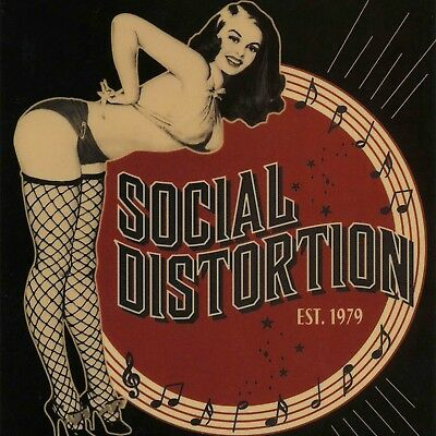 """Social Distortion poster wall decoration photo print 24x24"""" inches"""