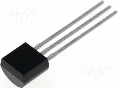 1 pcs Driver; Internal MOSFET; buck, LED controller; 20÷400V; 30mA; TO92