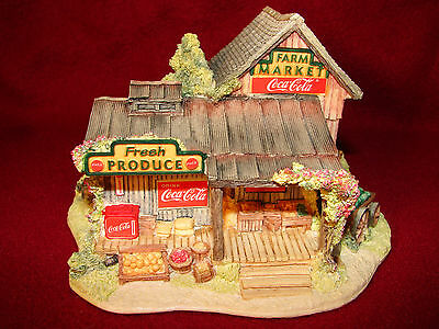Lilliput Lane Americana Ray Day Coca-Cola Country Fresh Produce NIB Signed