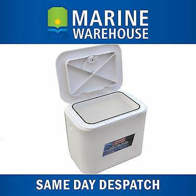 30LTR Flowrite Livewell Bait Tank With Access Lid - Through Deck Mount 508687
