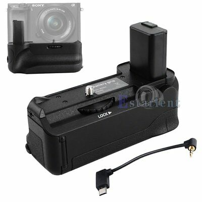 New Vertical Battery Grip Pack Holder For Sony A6500 Digital Micro Single Camera