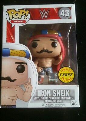 funko pop iron sheik chase