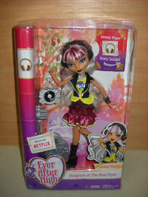 BNIB Ever After High Melody Piper Doll By Mattel
