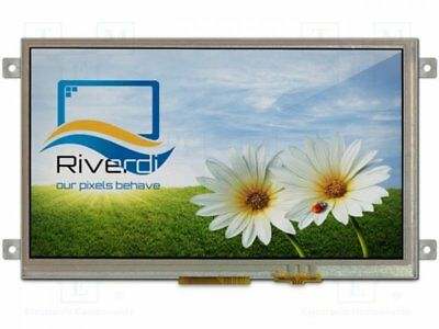 "1 pcs Display: TFT; 7""; 800x480; Illumin: LED; Dim:165.6x100.6x11.18mm"