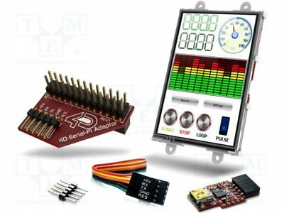 "1 pcs Display: TFT; 3.5""; 480x320; 49.7x77mm; Display: graphical"