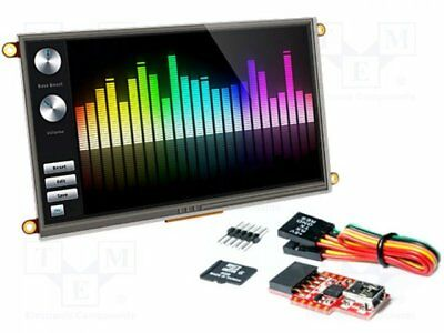 1 pcs Dev.kit: with display; Resolution:800x480; Interface: I2C, UART
