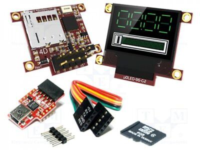 "1 pcs Dev.kit: with display; Resolution:96x64; 0.96""; 20.1x13.4mm; 160°"