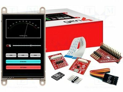 "1 pcs Dev.kit: with display; Resolution:320x480; 3.5""; 73.4x49mm; 32kB"