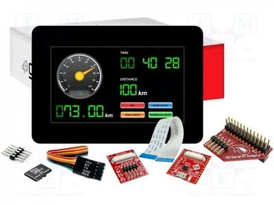 "1 pcs Dev.kit: with display; Resolution:480x272; 4.3""; 95.04x53.86mm"