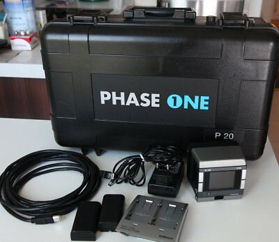 Mint (1200 shots) Phase One P20 H101 H Mount back - Hasselblad H1 H2 H3D H4D H5D