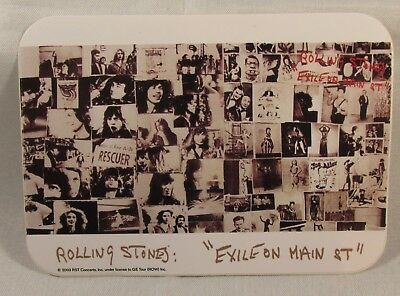 Rolling Stones Exile On Main St. Vinyl Sticker Official Licensed Product 2003