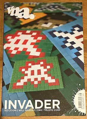 """VNA Street Art Magazine 16 SPACE INVADER Chu """"Very Nearly Almost"""" OOP  NEW"""