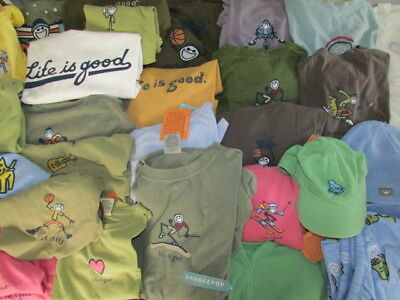 Life Is Good New Assorted T Shirts LS SS Adult Youth Infant All Styles & Colors+