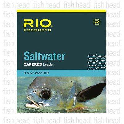 NEW Rio Saltwater Tapered Leader