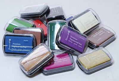DOVECRAFT Ink Pads Assorted Colours Craft Stamp Card Making Rubber Stamping Bulk