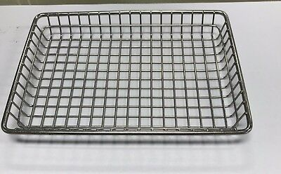 Used Table Top Rectangular Wire serving Baskets  GET 4-835809  Lot of 6 ea.